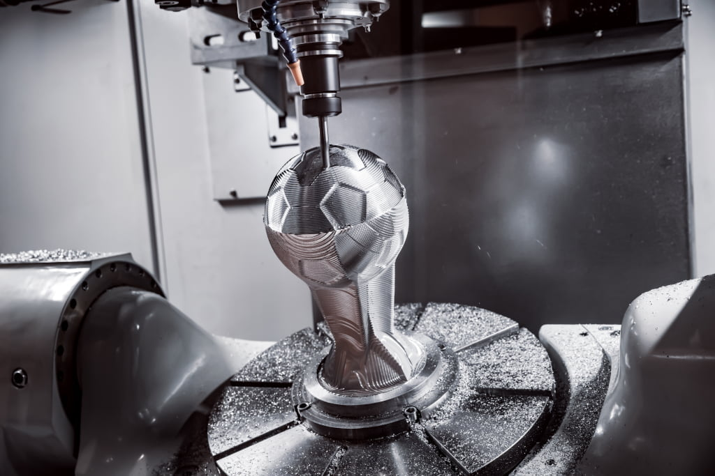 Usinage, production de pièces